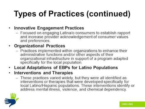 Community Defined Practices Capacity Building Project