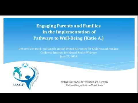 Engaging Youth in the Implementation of Pathways to Well-Being (Katie A.)